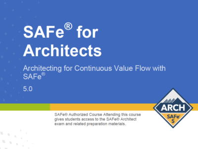 SAFe 4 Architect